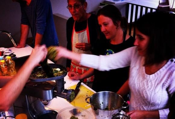 Falafel grinding