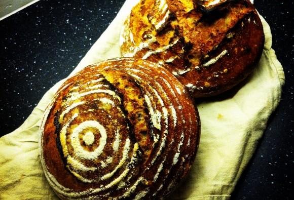 Spelt Sourdough loaves