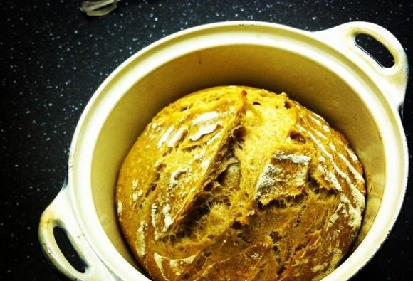 Spelt Sourdough loaf halftime bake