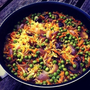 Persian style Pilaf